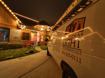 Christmas Light Van - About Us The Christmas Light Professionals