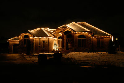 Christmas Light Decorating Ideas