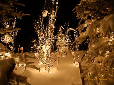 snowfall on christmas